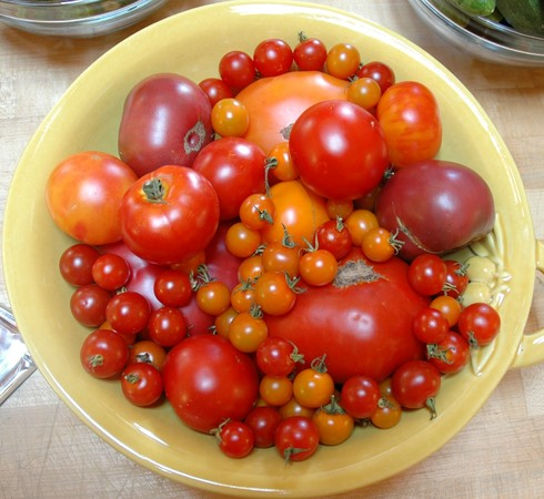 Chilled Heirloom Tomato Soup « Culinary Getaways Sherry Page